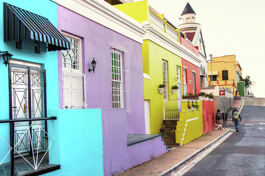 Cape Town Photograph - Bo Kaap 1 by Claudio Maioli