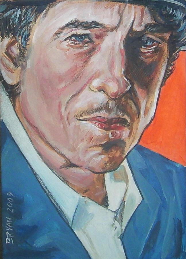 Bob Dylan Painting - Bob Dylan by Bryan Bustard