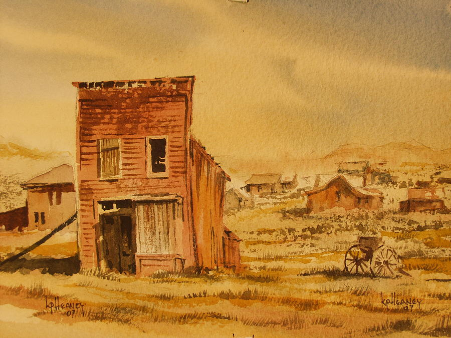 Historic Painting - Bodie California by Kevin Heaney