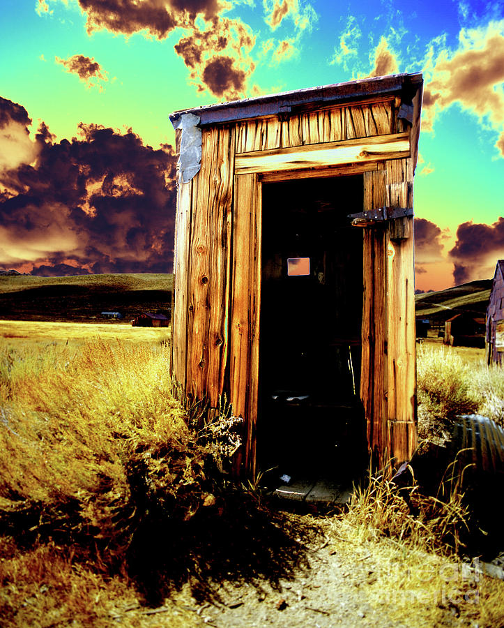 Bodie Photograph - Bodie Outhouse by Jim And Emily Bush