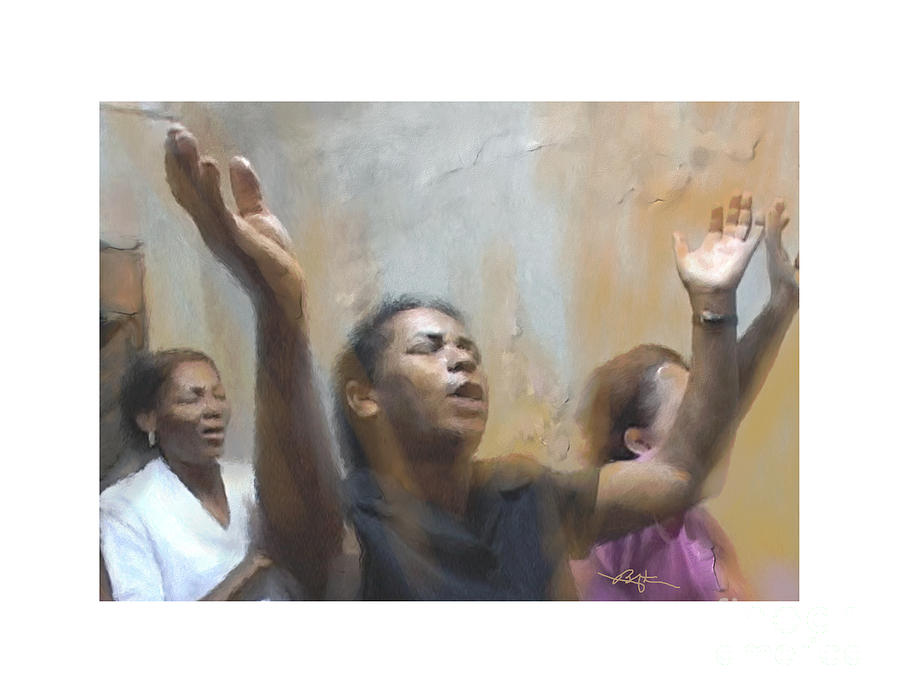 Praises Painting - Body And Soul by Bob Salo