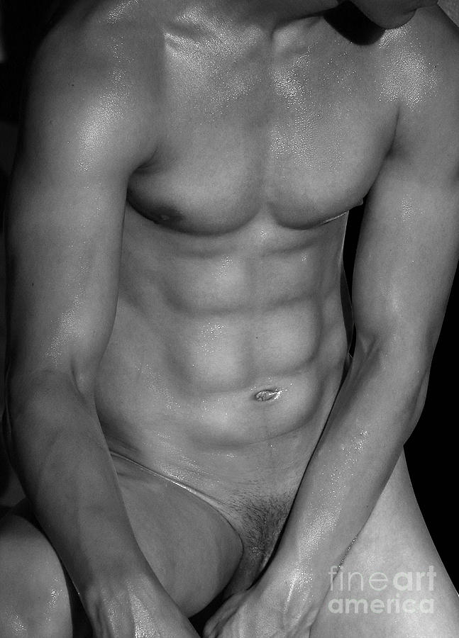 Nude Photograph - Body Art by Mark Ashkenazi