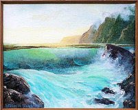 Kauai Painting - Bold Moves by Steven Welch