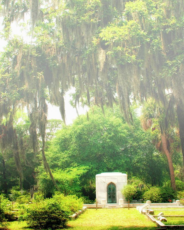 Savannah Photograph - Bonaventure Cemetery Savannah Ga by William Dey