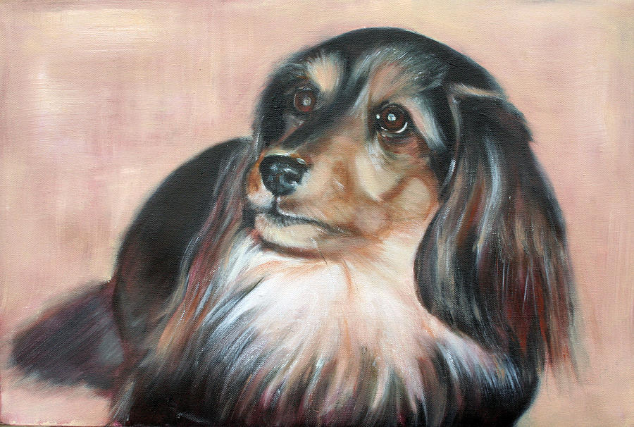Bonnie Painting by Fiona Jack