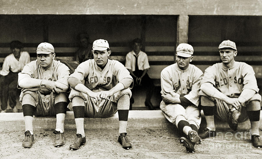 1916 Photograph - Boston Red Sox, C1916 by Granger