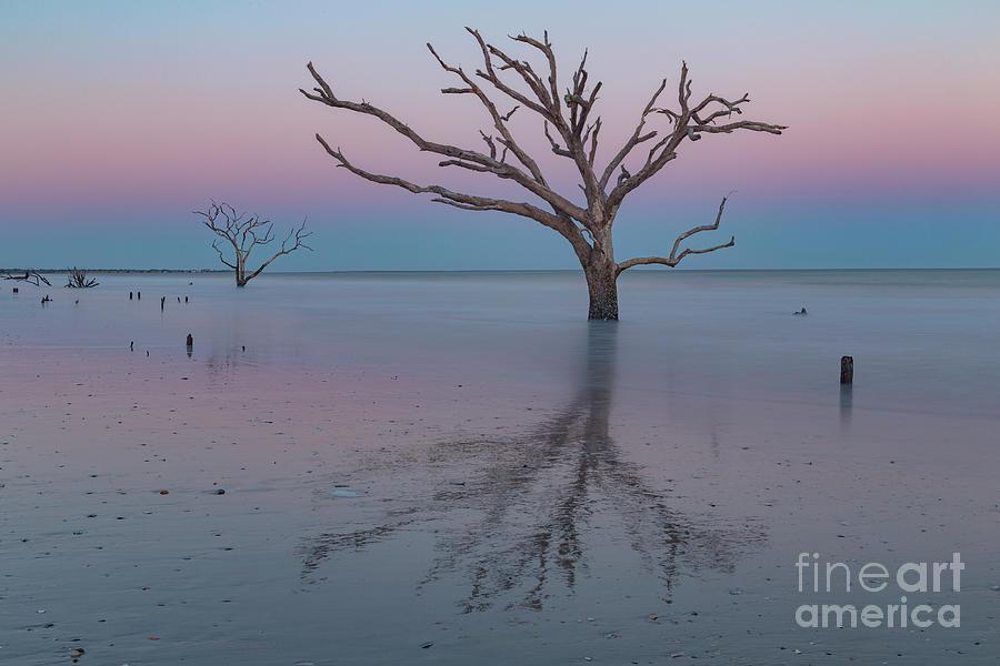 Boneyard Beach Photograph - Botany Bay Sunset by Richard Sandford