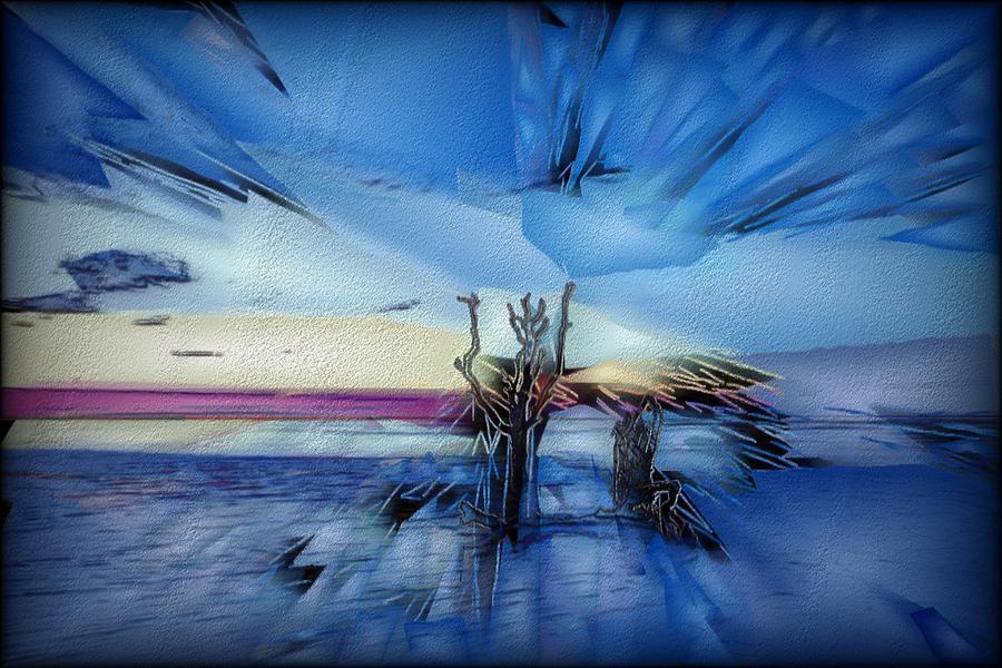 Artwork Digital Art - Botany Sunrise by Jon Glaser