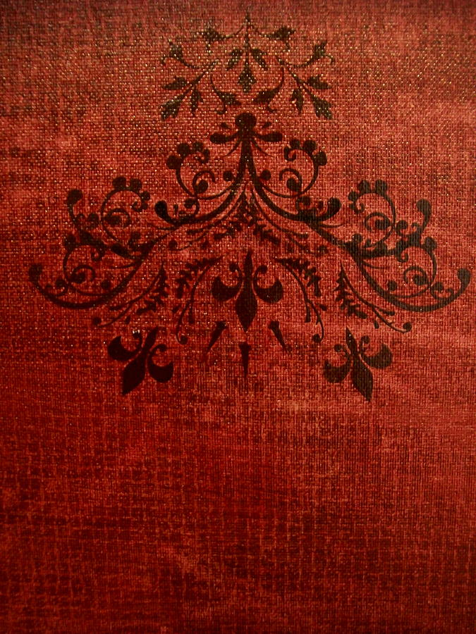 Red Painting - Boudoir Two by Laurette Escobar