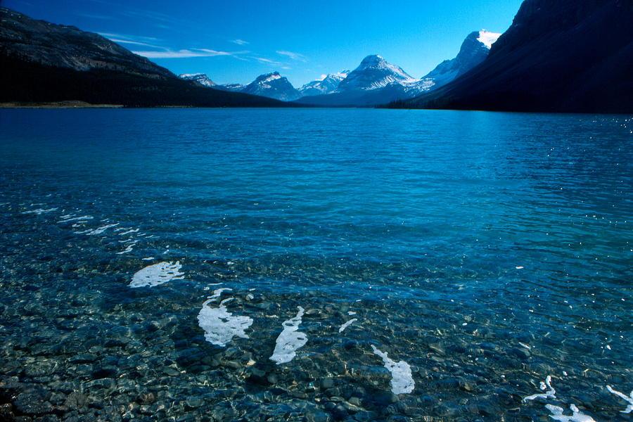 Lake Photograph - Bow Lake by Harley J  Winborn