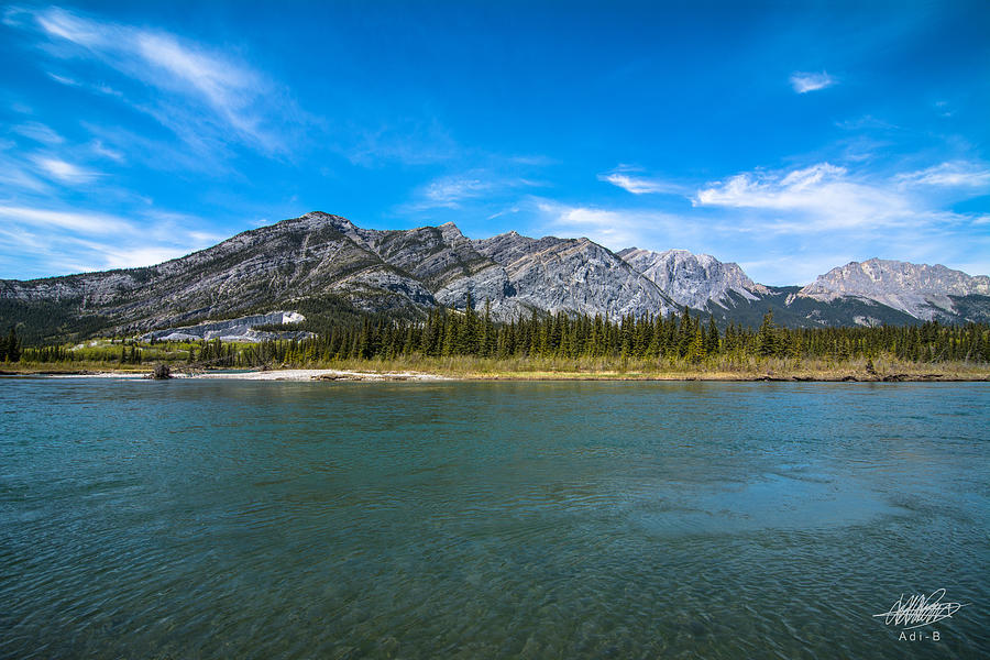 Bow Valley Campground Photograph by Adnan Bhatti