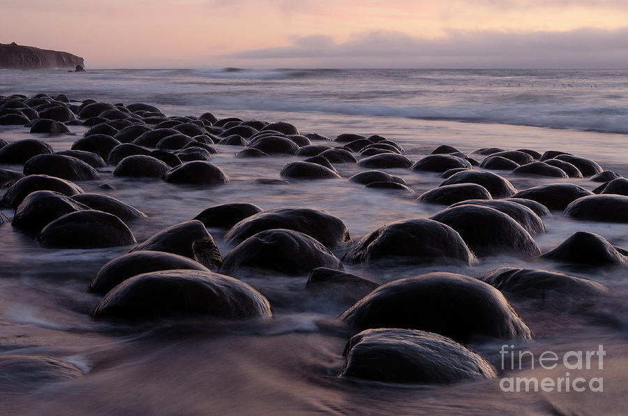 Bowling Ball Beach California Photograph By Bob Christopher