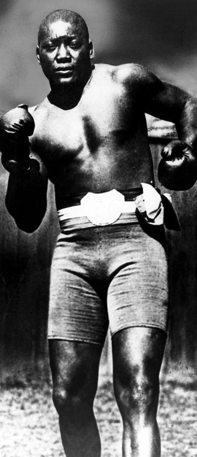 1910s Photograph - Boxer Jack Johnson, Ca. 1910s by Everett