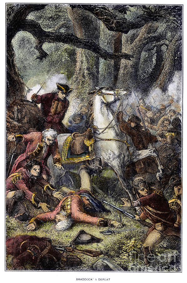 Braddocks Defeat 1755 Photograph By Granger