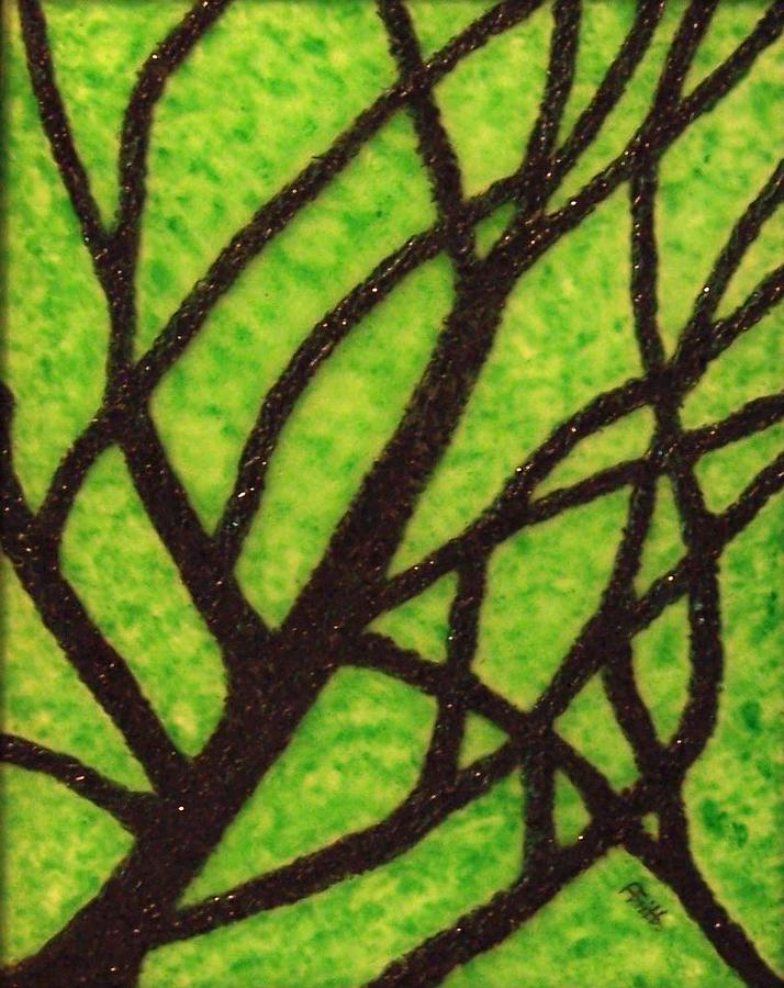 Interior Design Painting - Branching Out by Anneliese Fritts