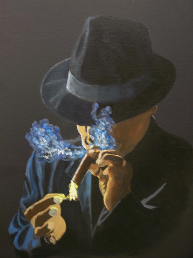 Breaktime Painting by Charles Vaughn