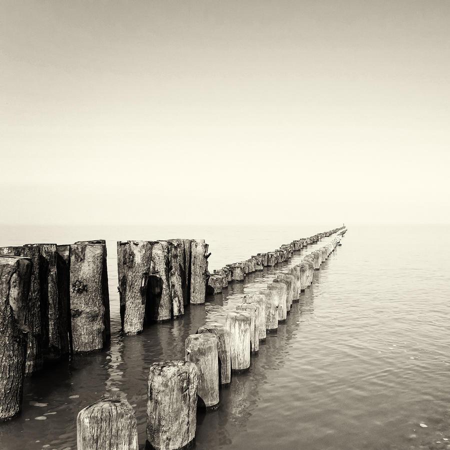 Breakwater Photograph - Breakwaters by Wim Lanclus