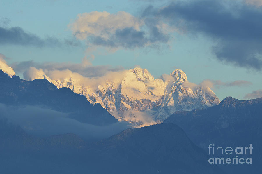 Mountains Photograph - Breathtaking Scenic View Of The Alps In Italy  by DejaVu Designs