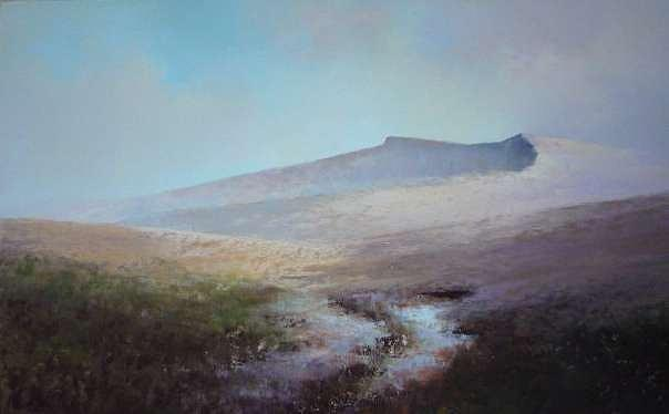 Mountains Painting - Brecon Beacons by Mark Whittaker