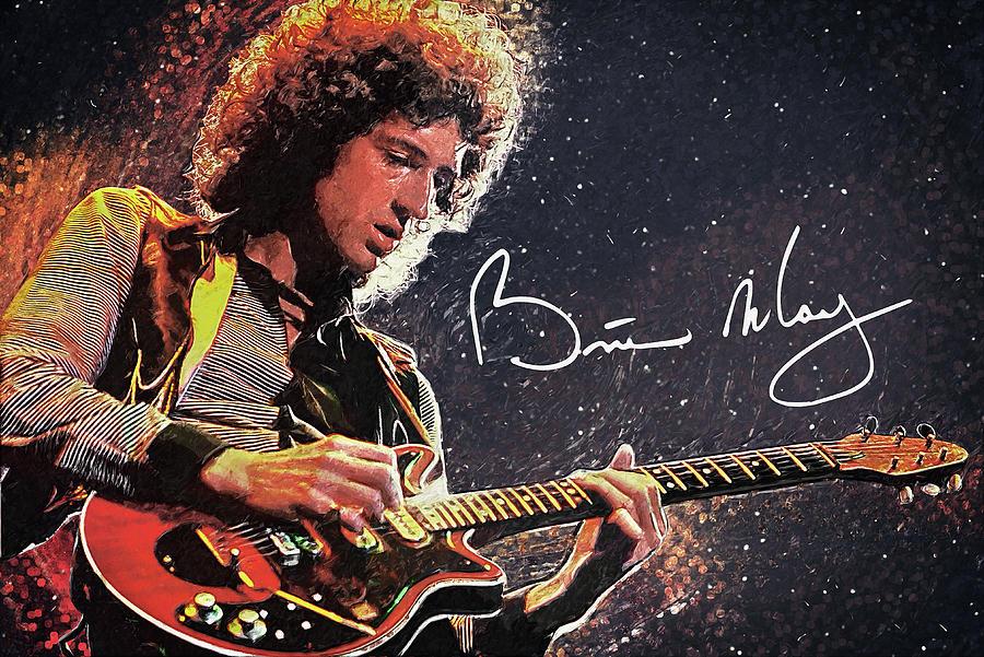 Brian May Digital Art
