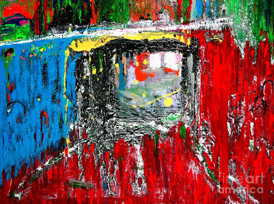 Prints Painting - Bridge Study  2 by Teo Santa