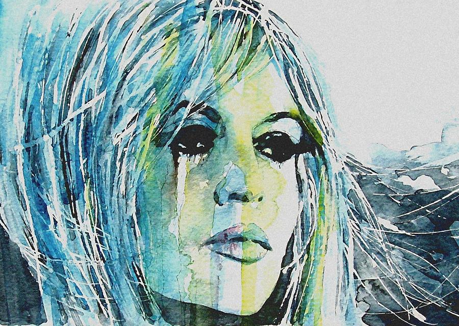 Brigitte Bardot  Painting - Brigitte Bardot by Paul Lovering