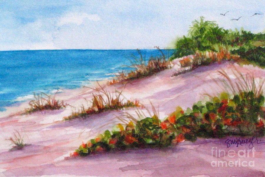 Beaches Painting - Brohard Beach by Suzanne Krueger
