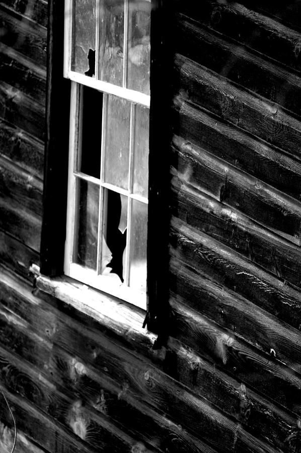 Window Photograph - Broken by Emily Stauring