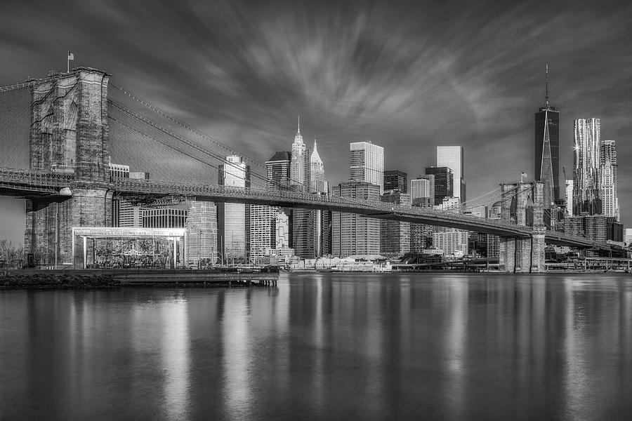 Brooklyn Bridge From Dumbo by Susan Candelario