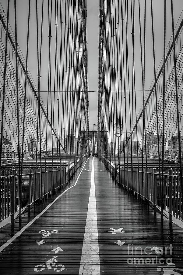 Brooklyn Bridge NYC by Edward Fielding