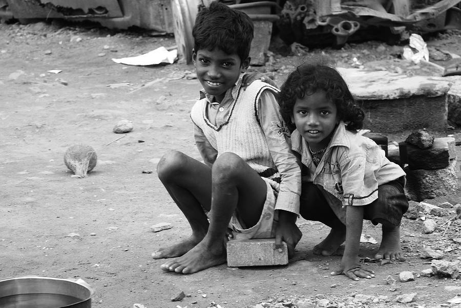 Brothers Photograph by Jang bahadur Rana