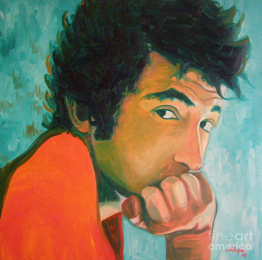 Bob Dylan Painting - Brownsville Girl by Natasha Laurence
