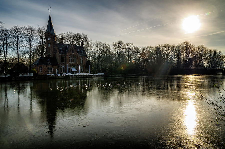 Frozen Bruges by Pablo Lopez