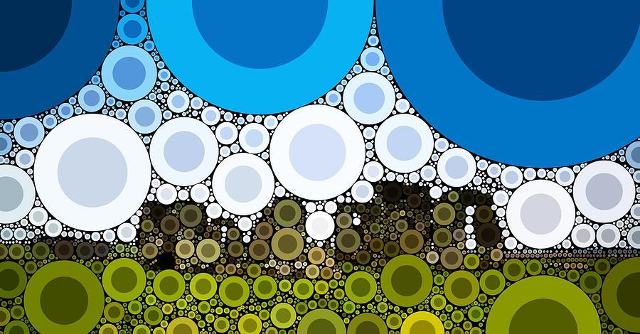 Bubble Art Stonehenge Digital Art