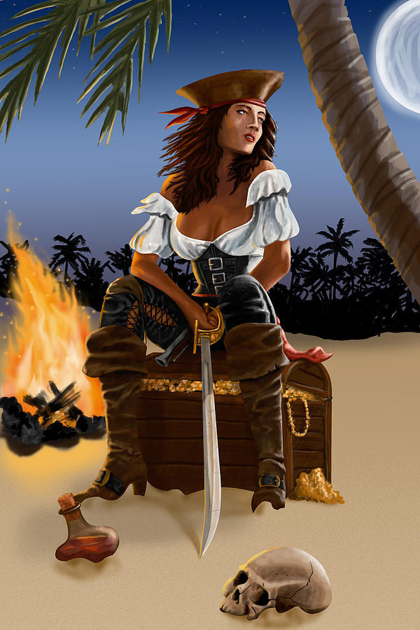 Pirate Digital Art - Buckling The Swash by Doug Schramm