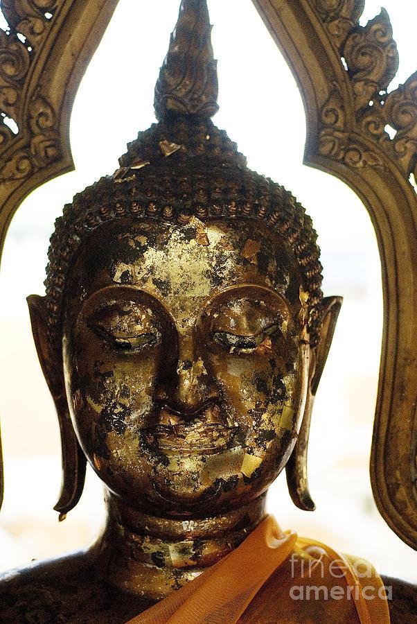 Bangkok Photograph - Buddha Sculpture by Ray Laskowitz - Printscapes