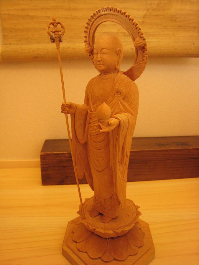 Sculpture Sculpture - Buddhist Jizo Devotional Figurine by Braven Smillie