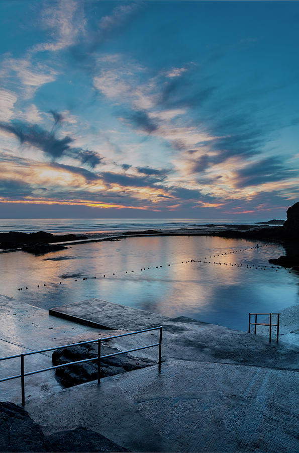 Bude Seapool Cornwall by Maggie McCall