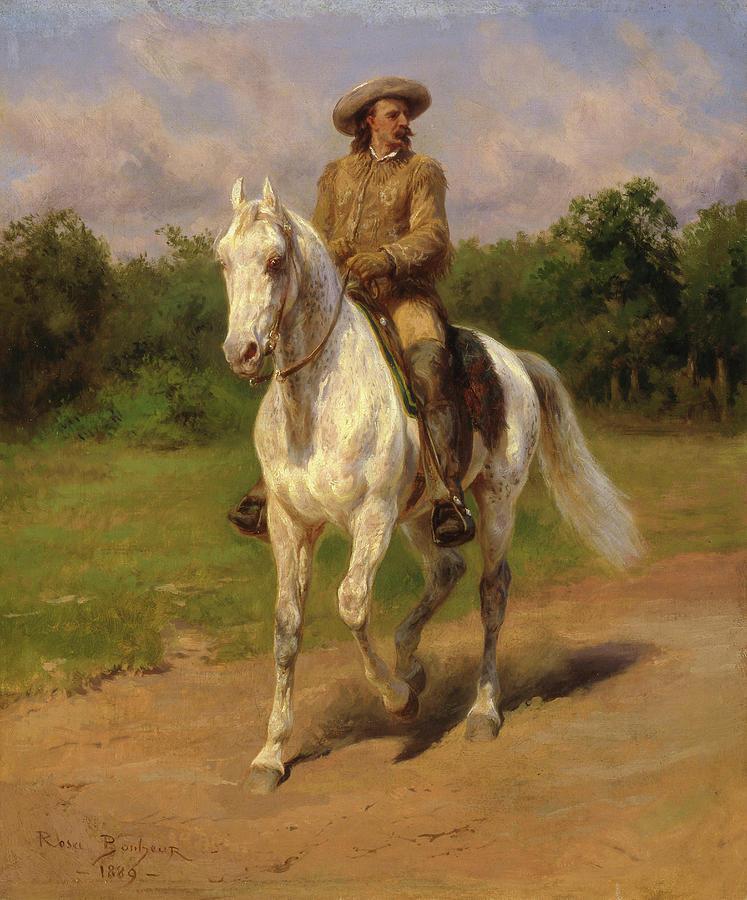 William Frederick Painting - Buffalo Bill by Rosa Bonheur