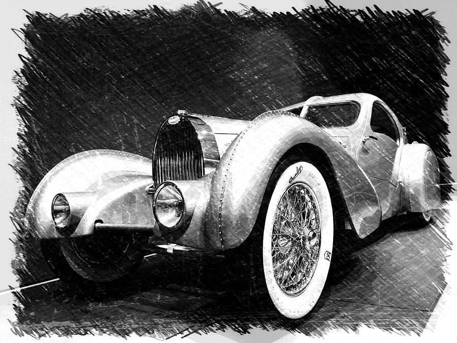 Bugatti Photograph - Bugatti Type 57 Aerolithe by Dick Goodman