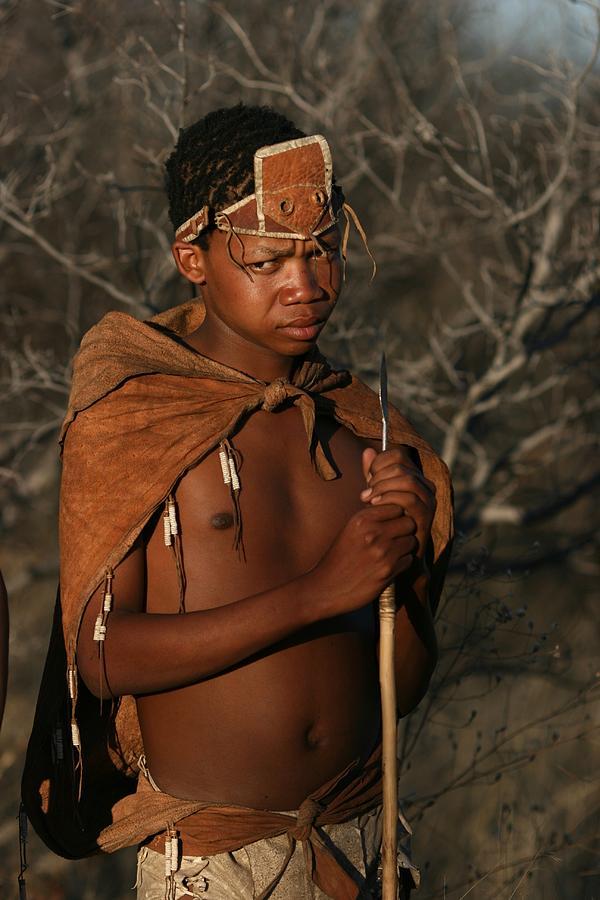 Bushmen Photograph - Bushmen Hunter by Miranda  Miranda