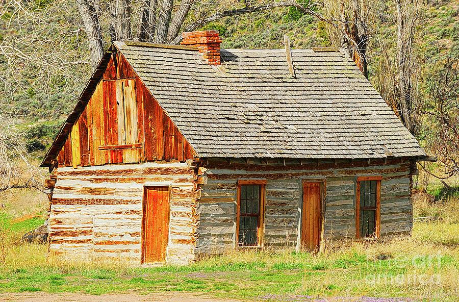 Utah Photograph - Butch Cassidys Family Homestead by Dennis Hammer
