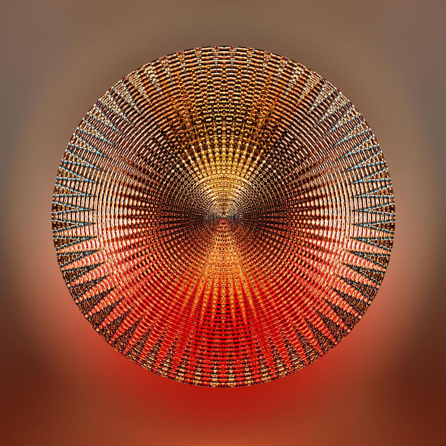Disc Digital Art - Cadence by Peter Lloyd