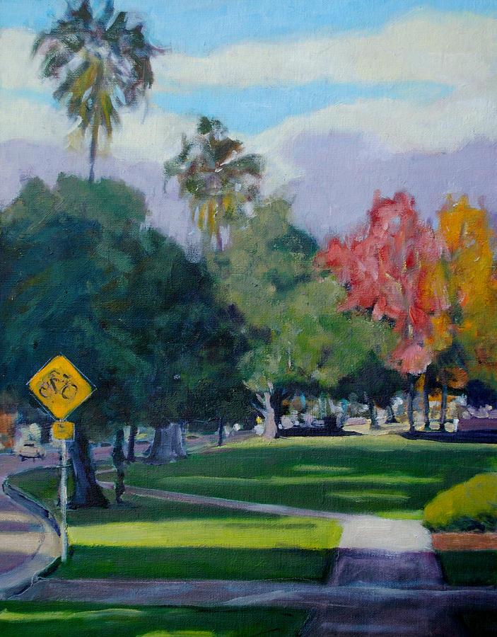 Cal Tech Painting - Cal Tech by Richard  Willson