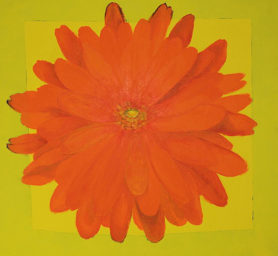Calendula Painting - Calendula by Sirpa Mononen