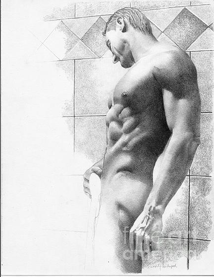 Vanderpool Drawing - Callaway by David Vanderpool