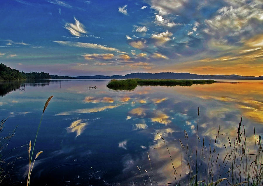 Calm Morning HDR by Jeff Galbraith