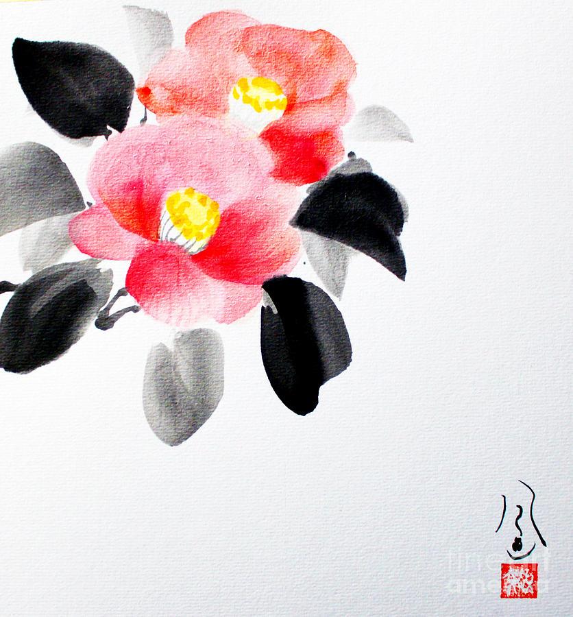 Camellia / Tsubaki by Fumiyo Yoshikawa