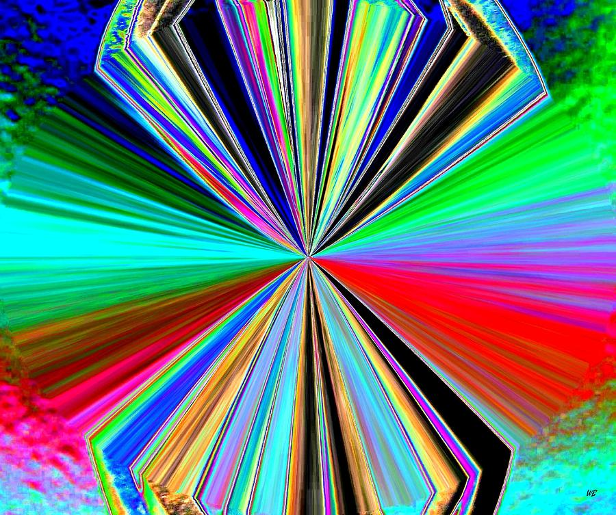 Abstract Digital Art - Candid Color 8 by Will Borden