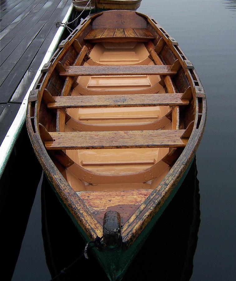 Canoe Photograph by Iris Posner